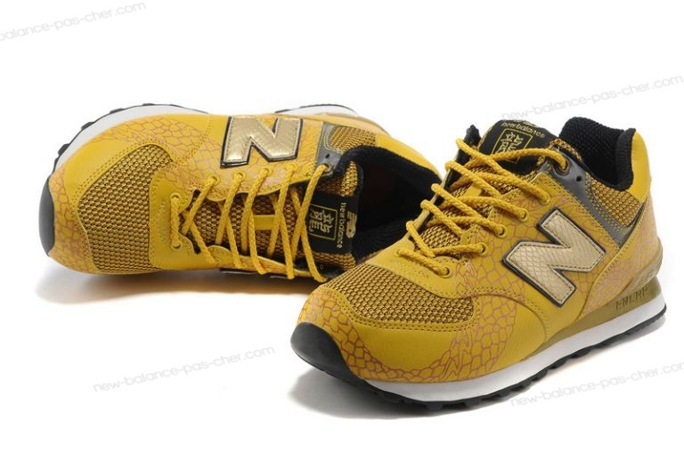 new balance jaune moutarde homme